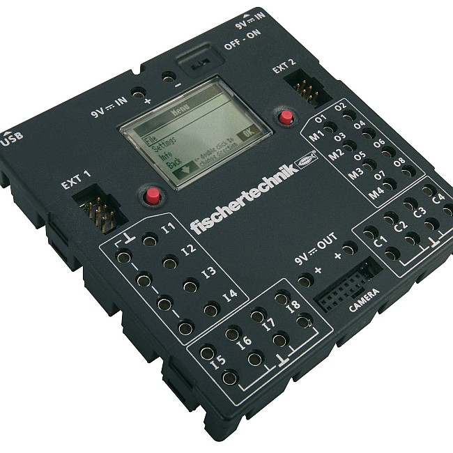 Abb.: TX-Controller (fischertechnik)