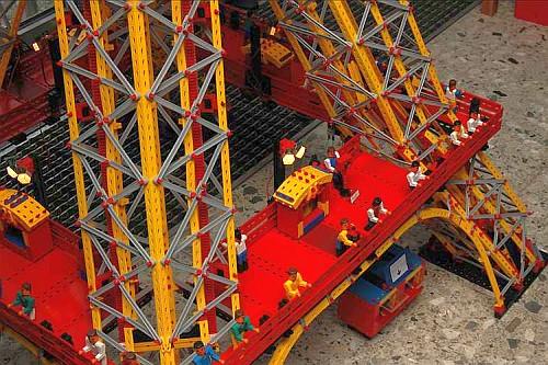 Eiffelturm-Modell von Rob van Baal (2008)