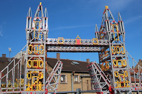 Modell der Tower-Bridge (Foto: Johann Fox)