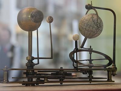 Tellurium von Wilhelm Jones, 1794 (Museum für Technik und Arbeit, Mannheim)