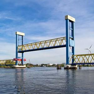 Kattwyk-Brücke, Hamburg (Foto: Wikipedia)