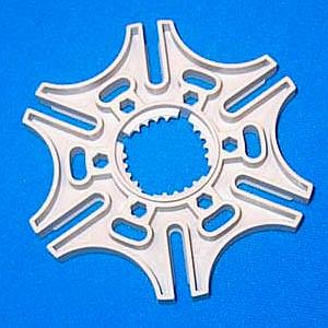 Malteser-Schaltrad der holländischen fischertechnik-Fans (2001)