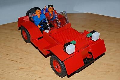 Oldtimer-Cabrio von Fredy (Foto: Frederik)