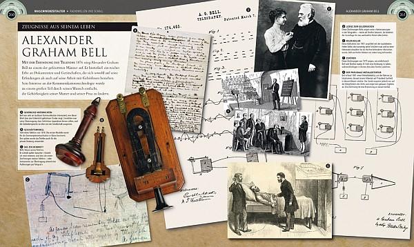 Alexander Graham Bell (Auszug aus: Ingenieure, Verlag Dorling Kindersley)