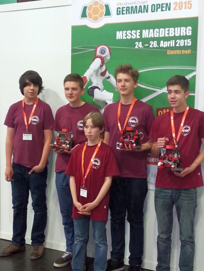 Scheffelgymnasium Lahr - 3. Platz bei RoboCup German Open