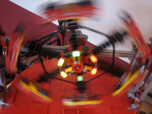 Transformer im Betrieb (Foto: Jens Lemkamp)