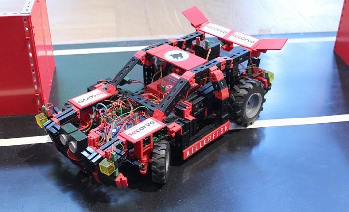 Einpark-Roboter des Teams