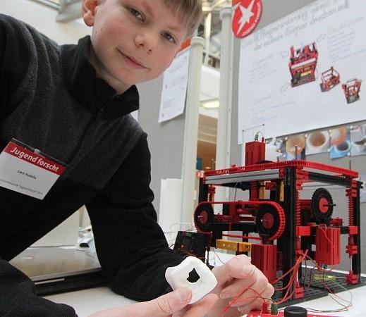 3D-Drucker Jugend forscht