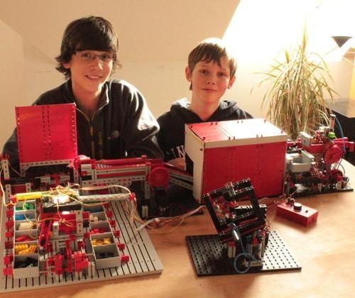 Legosteine-Sortierer (Sina Binder)