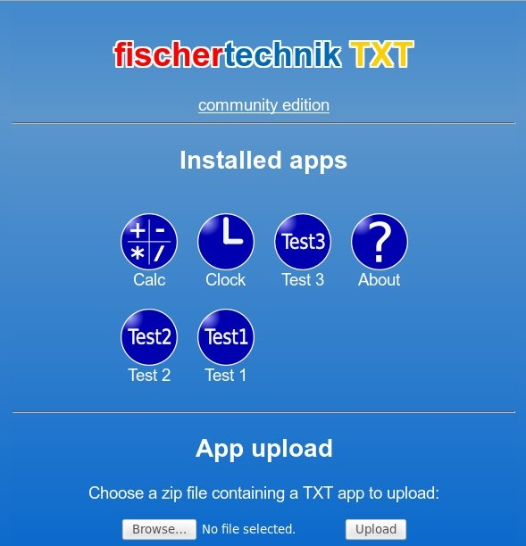 TXT Community Firmware