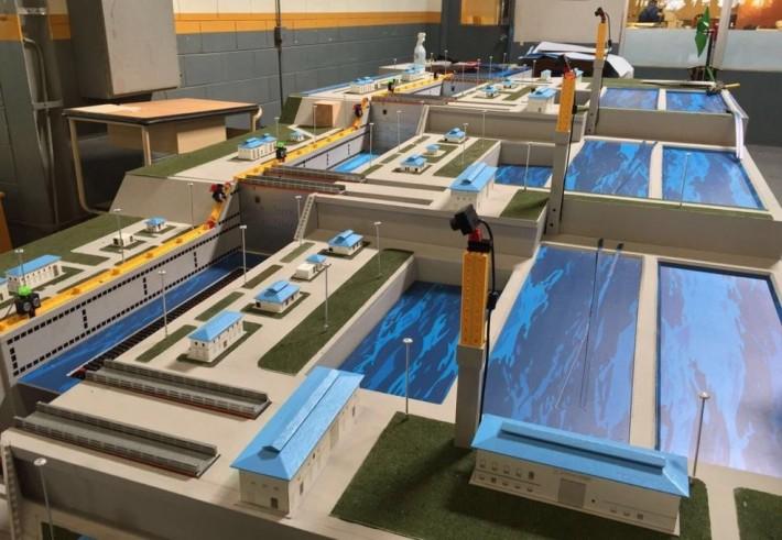 ft-Simulation des Panama-Kanals