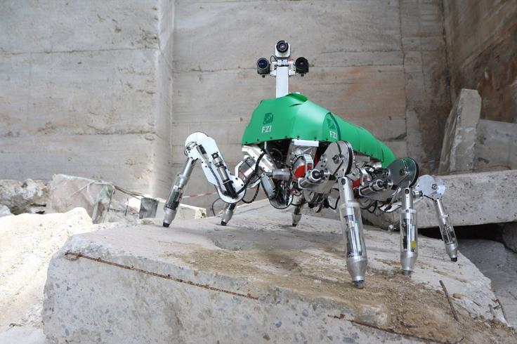 Laufroboter Lauron (FZI)