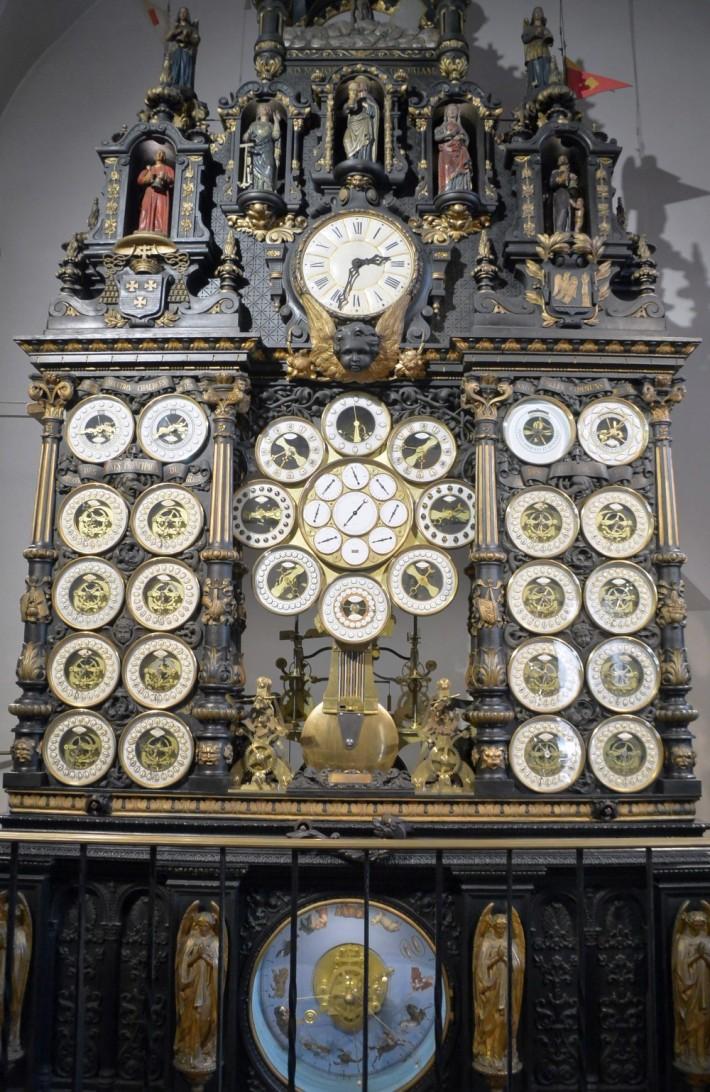 Astronomische Uhr - Gesamtansicht