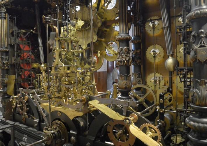 Astronomische Uhr - Uhrwerk