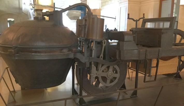 Dampfwagen Cugnots