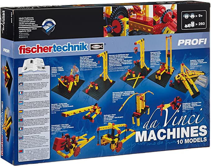 fischertechnik daVinci Machines