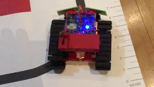 Spurfolge-Roboter mit BT Smart Controller