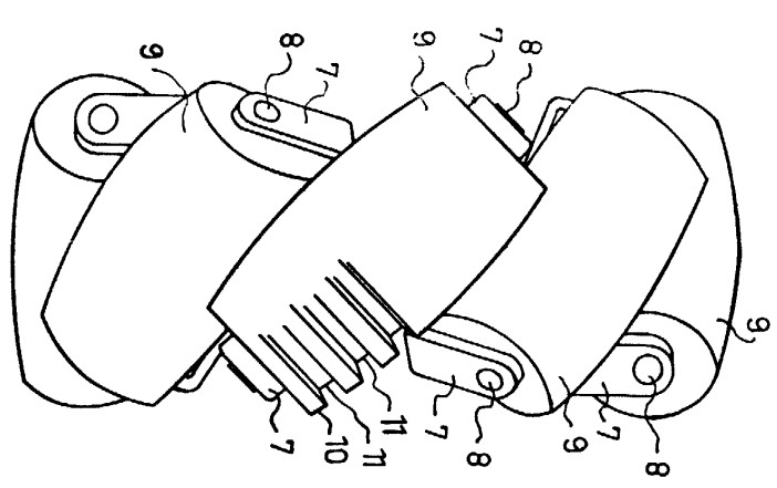 Mecanum-Rad (Patentschrift)