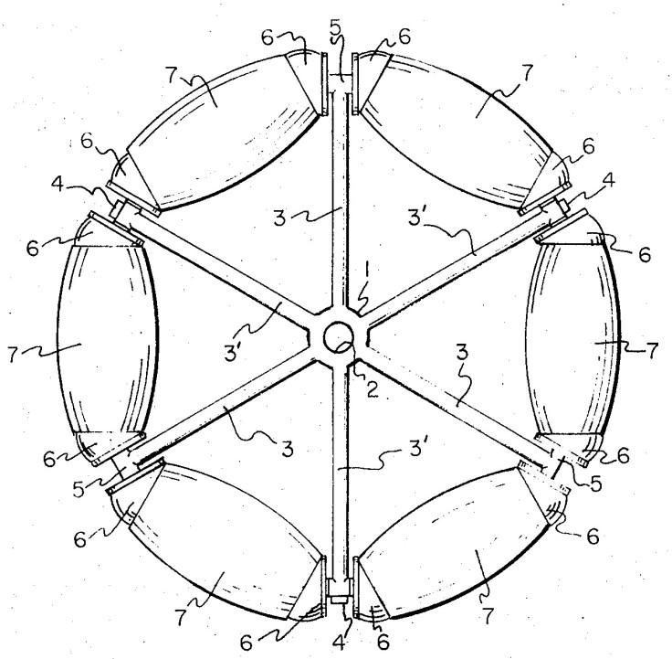 Omniwheel (aus Patentschrift)